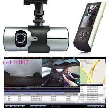 "2.7"" 12V Dual Lens Full 1080P HD Car Digital Camera Recorder Dash Cam GPS Logger"