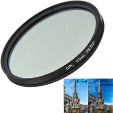 Slim 67mm CPL Circular Polarizing Polarizer Lens Filter For Canon Nikon Camera