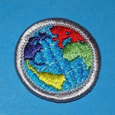 CITIZENSHIP IN THE WORLD  TYPE H  MERIT BADGE  BROTHERHOOD    BOY SCOUT - 7075
