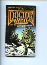 Doctor Who And The Loch Ness Monster # 6, Terence Dicks 1st Us Sb Vg