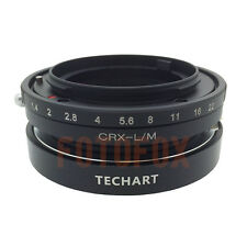 Contarex CRX Lens to Leica M LM Body Adapter M9 M8 M7 M6 M5 for TECHART LM-EA 7