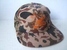 KWTF Turkey Camo Hat Vintage Camouflage Snapback Trucker Cap