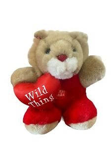 """Dan Dee Collectors Choice Lion Sings Wild Thing Animated Red heart 7"""""""