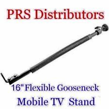 "Gooseneck Mobile TV Stand 16"" Flexible GOOSENECK STAND for TV Camera CCTV Boat"