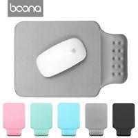 Baona Thin Wrist Comfort Mouse Rest Soft Comfort Mousepad Mice Mat Pad for PC