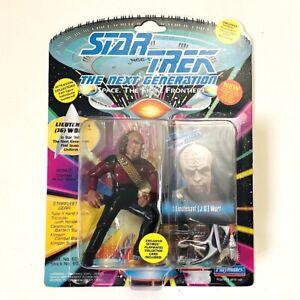 LIEUTENANT (JG) WORF Star Trek The Next Generation 1993 Playmates Figure MOC!!