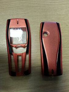 New for Nokia 7250 7250i Bronze Front Fascia Housing & Battery Cover