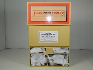 LIONEL TRAINS No. 11- 90037 # 163 FREIGHT STATION SET 4 PIECE MINT ORIGINAL BOX