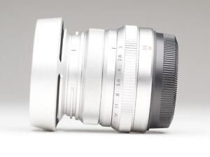 Fujifilm Fujinon XF 35mm f/2 R WR (silber)
