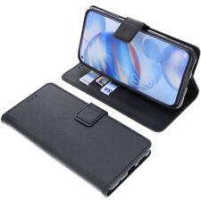 Tasche für Oukitel C21 Book-Style Schutz Hülle Handytasche Buch Schwarz