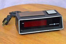 Vintage GE Clock Red LED Digital Alarm Clock Model F1-8149 TESTED