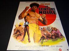 LA CEINTURE NOIRE ! blaxploitation jim kelly robert clouse affiche cinema 1973