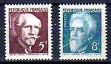 Francia 1948 Yvert n° 820 et 821 neuf 1er elección