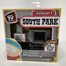 Tiny Tv Classics South Park Season 1 Real Working Mini Tv with Remote New In Box