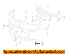ACURA HONDA OEM Rear Bumper-Bumper Cover Clip 91503SZ3003