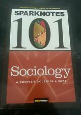 Sparknotes 101 Sociology BRAND NEW SOFTCOVER BOOK
