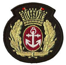 Ecusson patche Marine Royal Navy blason emblème patch brodé thermocollant
