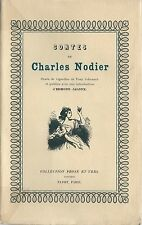 EO N° ( PAYOT ) CHARLES NODIER + TONY JOHANNOT + EDMOND JALOUX : CONTES