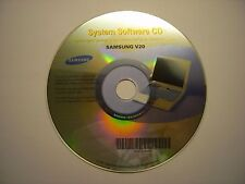 SAMSUNG V20 SYSTEM SOFTWARE CD ORIGINAL FACTORY RESTORATION DRIVERS/APPLICATIONS