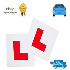 L Plates Learner Plates Rigid 2 x L Plates With Pre Drilled Holes
