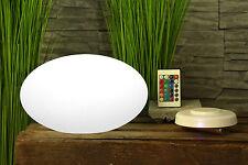 Design Tischlampe Pebble Nachttischlampe dimmbar mit Fernbedienung Lampe LED