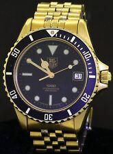 TAG Heuer 1000 984.013 Gold Plated SS men's quartz diver watch w/ black dial