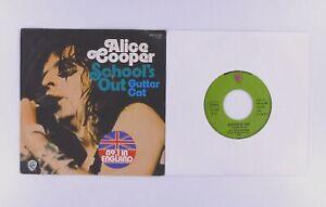 "7"" Single - Alice Cooper -  School's out !    Gutter Cat - S4321"