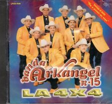 Banda Arkangel R-15 La 4x4  CD New Sealed