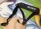 Sony Alpha Black / Orange Camera Neck Strap For SLR / DSLR a6000 5000 a7 a7r a7s