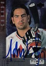 1997 ADAM COLAGIACOMO Canada Autographed Signed Hockey UPPER DECK Card 24 (B)