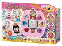 BANDAI Hugtto! PreCure Mirai Pad & Memorial Cure Clock Set New JP Original F/S