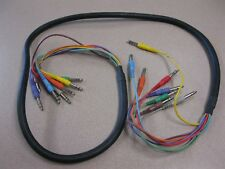 Musician multicolored cable 80in.  long