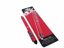 Red DOK Aluminum Stylus + Pen For iPhone iPad Samsung Tablet Phone PC and Paper