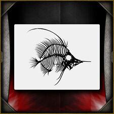 Fish Bones 1 -  Airbrush Stencil Template Airsick
