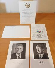 Bill Clinton 1997 Congressional Presidential Inaugural Invitation 5 piece Set