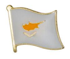 Cyprus Flag Lapel Pin Badge  High Quality Gloss Enamel