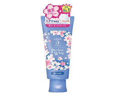 Shiseido Senka Perfect Face Wash Cleanser Whip Sakura Design Limited 120g Japan