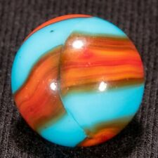 "AWESOME Peltier NLR BURNT SUPERBOY Vintage Marble, .58"", NM++, hawkeyespicks"