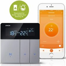 WiFi Smart Thermostat for Gas/Water Boiler Heating Water Floor Heating APP Voice