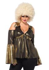 Disco Gold Dress Costumes