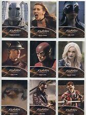The Flash Season 2 Complete Metas Chase Card Set MT1-9