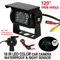 Caméra de Recul Camping-Car IP67 DC12V-24V Pack Ccd Kit Night Caméra frontale