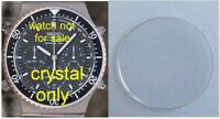 Japan Made Mineral Crystal Fits many 7A38 and 7A28 Seiko Chronographs 31mm