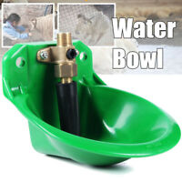 1L Automatic Copper Water Feeder Bowl Bottle Dispenser Drinking Farm