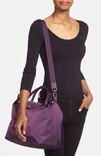 Longchamp Medium 'Le Pliage' Neo Nylon Purple Tote New $245