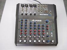Alesis MULTIMIX8 USB FX Mixer with Power Cord Multimix 8 with effects
