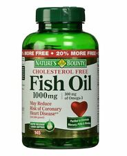 Nature's Bounty Fish Oil Omega-3 1000 mg Softgels 135 Soft Gels (Pack of 2)