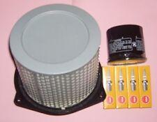 Service kit- Plugs , Air & Oil filter for SUZUKI GSX GSX600  GSX600F 1989-96