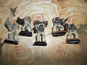 Games Workshop: Warhammer 40K Space Marines - 5  METAL TERMINATORS