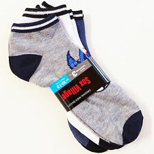 Unisex 12*PAIRS Ankle Socks Soccer Print Low Cut Sports CASUAL 10-13 SOX VILLAGE